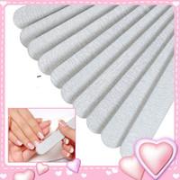 Il trasporto libero 50 pz / lotto 100/180 acrilico gel uv mail nail buffer buffer lucidatura blocco manicure set strumenti di arte del chiodo