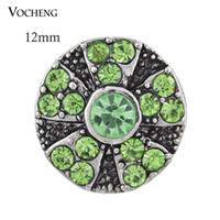 فوشينغ نوسا مجوهرات قابلة للتبديل الإكسسوارات الصغيرة 12 ملم الزنجبيل الطقات كريستال (Vn-443)