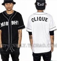 MISBHV KNYEW 07 Camiseta de béisbol Jersey Trend Fashion Hip Hop MenWomen Parejas Sports Cotton T-shirts