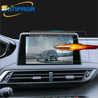 8 인치 자동차 네비게이션 강화 유리 스크린 보호기 LCD 스틸 보호 필름 PEUGEOT 3008 3008GT 5008 5008GT 2017 2018 자동차 스타일링