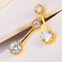 Brand New Wedding Stud Earring Not Fade For Women Top Fashio...