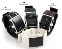 Led Luxury Intercrew Watch For Women Men Ic Silicone Sports Klockor 2015 Hot Selling Square Digital elektronisk LED