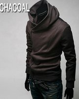 2015 HOT Brand New Diagonal zipper Men' s Hoodies & Swea...