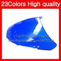 100% новый мотоцикл ветровое стекло для HONDA CBR250RR 90 91 92 93 94 MC22 CBR 250RR 1990 1991 1992 93 1994 хром Черный прозрачный дым лобовое стекло