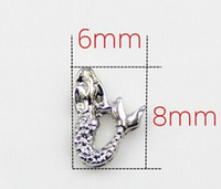 20PCS lot Silver Mermaid DIY Accessories Alloy Charms Fit Fo...