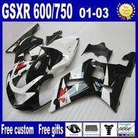 スズキGSXR 600 750フェアリングK1 2001 2002 2003 GSXR600 GSXR750 01 02 03フェアリングキット