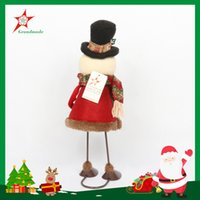 New creative dynamic, Santa Claus, snowman decoration, cloth...