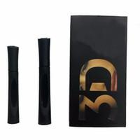 Youn et nique 3D Plus Fiber Lash Mascara Set Maquillage Fiberlash Cils Étanche Double Mascara Noir 60 ensembles = 120pcs livraison gratuite