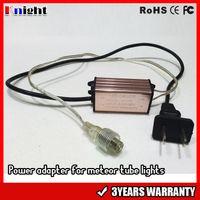 85-265 فولت النيزك دش أضواء محول 12 فولت 2pin موصل لالصمام النيزك ضوء المطر ip67 للماء البريد أنثى التوصيل الولايات محول