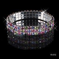 2020 3 rangées strass bracelet bracelet bracelet bracelet de mariée bijoux de mariée livraison gratuite BRACELET BRACELET BRIDE BRIDE FÊTE Soirée Prom 150-12