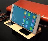 Горячая Стильный Для Xiaomi Hongmi Примечание 3 Красочные Флип Чехол Окно Чехол Роскошные Подлинная Кожаный Чехол Для Xiaomi Hongmi Редми Redrice Примечание 3