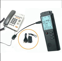 T60 شاشة LCD تسجيل صوتي 8GB مسجل صوت رقمي مشغل MP3 دعم A-B كرر وظيفة / اليوم والوقت الإعداد