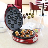 Kek Pop Maker NOSTALGIA ELEKTRIK Çörek Delik Kek Pop Maker Cupcake Düğün Doğum Günü Partisi Otel için Ev
