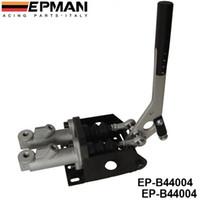 EPMAN Haute Qualité Aluminium Vertical Handbrake Handbrake Twin Cylindre avec maître Cylindre EP-B44004 en stock