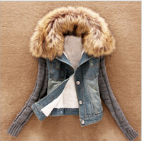 New women' s Autumn Denim Jacket Women winter Coat slim ...