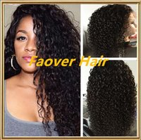 Top 8A kinky curly deep curly 1#, 1b, 2#, 4#, Natural Color Braz...