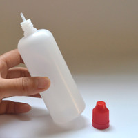 E Juice Bottle 120 ml Plastic Bottle with Child Proof Bottle...