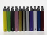 EGo-t pil eGo 650 mah 900 mah 1100 mah piller CE3 CE4 atomizer için elektronik sigaralar 510 konu MT3 protank H2