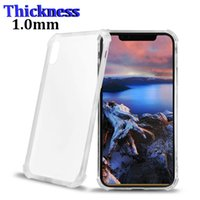 Crystal Soft TPU Case For iPhone X Transparent Cover Case So...
