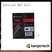 Kanger Subtank Vertikal OCC Spule 0.5Ohm 1.2Ohm 1.5Ohm Kangertech New Organic Cotton Spulenkopf V2 Für Subtank Mini Subox Mini 100% Original