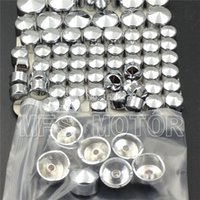Chrome Bolts Toppers Caps For Harley 2000 2001 2002 2003 200...