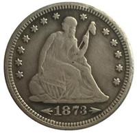 1873 يجلس ليبرتي الربع نسخة مجانية SHIPPIN