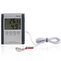 ميزان الحرارة الرقمي الرطوبة متر الرطوبة للداخلية شاشة lcd hc520 في حزمة البيع بالتجزئة 50 قطعة / الوحدة