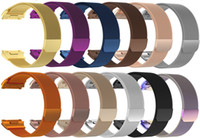 Colorful Magnetic Milanese Loop Metal Band For Fitbit Charge...