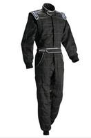 Motorrad-Auto-Rennanzug Coverall Jacket Hosen passen Männer und Frauen schwarz blau rot Polyester nicht feuerfest
