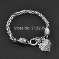 New Arrival Free ship50pcs a lot fashion antique silver Runner with Crystal Heart Bracelet Jewelry