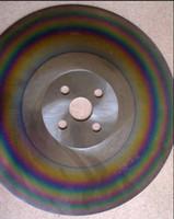 스테인리스 절단 톱날 재료 무지개 apol위한 12 인치 고속 스틸 톱날 325 * 2.0 * 32mm HSS-M42 둥근 톱