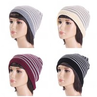 Outdoor Crochet Beanies For Men And Women Skull Caps Double ...