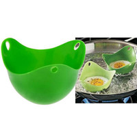 Silicone Egg Poacher Cook Poach Pods Kitchen Cookware Poache...