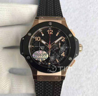 Mens High Quality military Luxury AAA brands 44mm Black Dial...