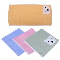 Wholesale- Baby Hand Face Towel Infant Bear Pattern Breathab...