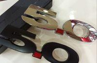 2pieces de haute qualité voiture métal emblème badge autocollant 5.0 Fit pour USA Cars Ford Série Ford Mustang Mondeo Fo **