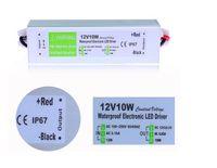 Trasformatore per uso esterno elettronico 12V 10W LED Driver IP67 Trasformatore 110 V 220 V Alimentazione 12V per luce subacquea
