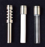 Substituição da linha Titanium Quartz Dicas de cerâmica para o néctar Collector Kit Micro Mini Cachimbo de vidro v4 kit Gr2 Titanium prego