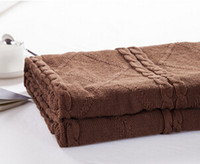 quality 100 cotton cable knit blanket bed blanket throws sofa air casual blanket 180200cm - Cable Knit Throw