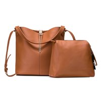 New Woman Totes Bucket Handbags Composite Shoulder Bag Fashi...
