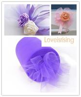 "6 ""x100yd Carrete púrpura Tulle Rolls Tutu DIY Craft Wedding Banquet Fabric Decor"