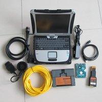Outil de diagnostic BMW ICOM A2 B C avec ordinateur portable CF19 Touch Screen Toughebook 4G HDD 1TB logiciel ISTA Full Set prêt à utiliser Windows10