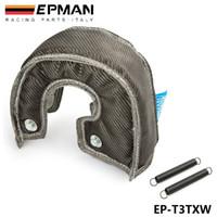 TANSKY - Тепловой экран EPMAN с покрытием из углеродного волокна Turbo для высокой температуры для T3 / GT37 GT30 EP-T3TXW