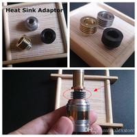 Радиатор капельного наконечника атомайзер адаптер радиатор адаптер снизу прилагается 510 резьба рассеивания тепла мундштуки разъем для пара RBA RDA RTA