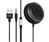 NFC Car Kit 3. 5mm Bluetooth 4. 0 Audio Receiver Hands- free St...