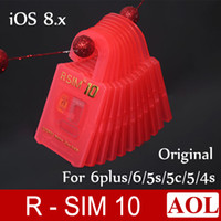 Newest Original RSIM10 R- SIM 10 RSIM 10 R SIM 10 Unlock Card...