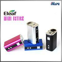 100 % 원래 Eleaf 미니 iStick 10W 1050mAh 배터리 울트라 컴팩트 VV 상자 모 가변 전압 (OLED) 화면 디스플레이 전자 담배 배터리