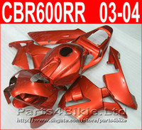 뜨거운 판매 혼다 페어링을위한 오렌지 풀 바디 부품 CBR600RR 2003 2006 Parts4bike 페어링 키트 CBR 600RR 03 04 CBR 600 RR CIEC