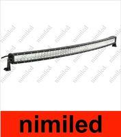 2014 New curved Light Light Bar 50 pollici 288W LED Light Light Bar LED Curved Light Bar Cree Chip con spot / raggio di inondazione per offroad HSA1915