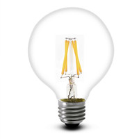 CE بنفايات UL G80 خيوط لمبة أضواء E27 B22 360 درجة شعاع الزاوية 4W الصمام خيوط e27